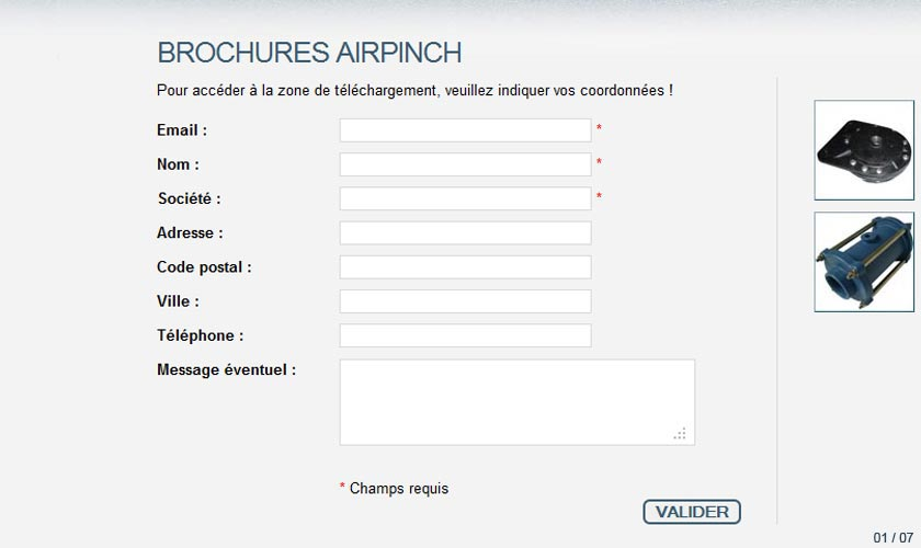 brochures Airpinch
